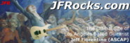 Jeff Fiorentino Official Site Logo Image, JFRocks Guitar Lessons & Music