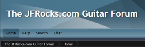 The JFRocks Guitarists' Forum