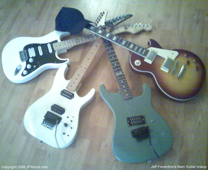Jeff Fiorentino's JFRocks Guitars