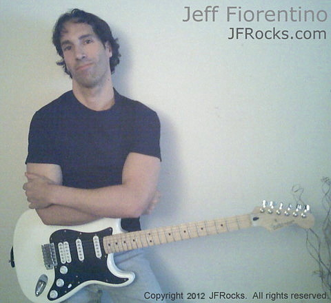 Van Halen style guitar lessons with Jeff Fiorentino at JFRocks.com