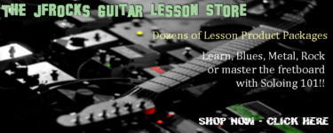The JFRocks.com Guitar Lesson Store, Jeff Fiorentino Guitar Lesson Packages