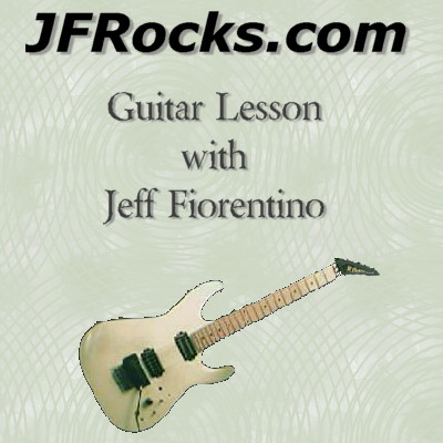 JFRocks Technique & Genre based Guitar Lessons with Jeff Fiorentino