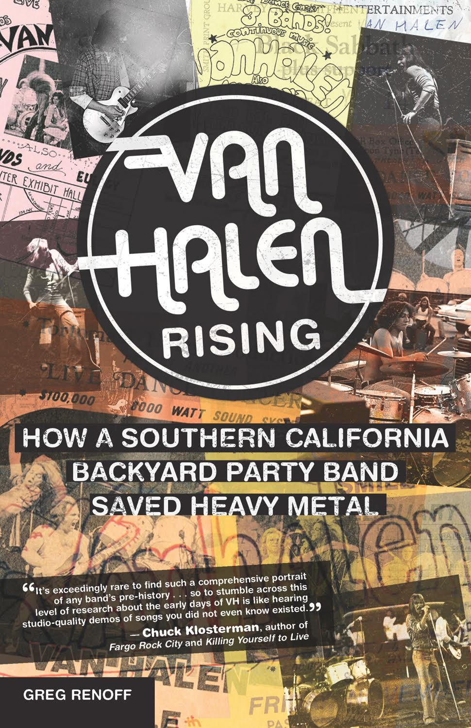 Van Halen Rising - by Greg Renoff