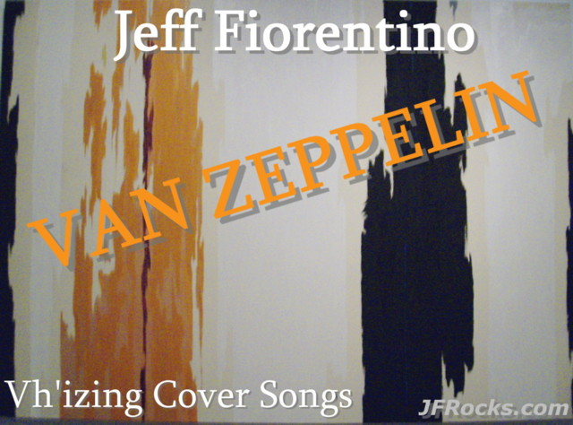 Guitarist Jeff Fiorentino - Van Zeppelin 2013 - Immigrant Song