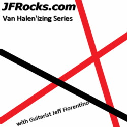 JFRocks Van Halen style guitar lessons with guitarist Jeff Fiorentino